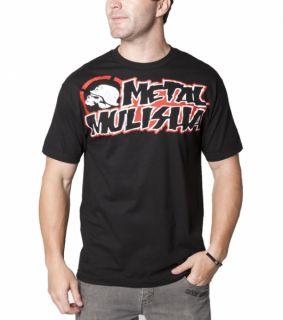 Metal Mulisha Scorpo Tee T Shirt schwarz black blk Gr. s m l xl xxl