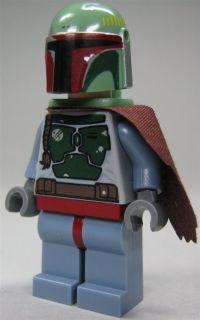LEGO Star Wars Figur Kopfgeldjäger Boba Fett (Bausatz 8097) mit