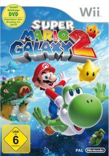Super Mario Galaxy 2 für Nintendo Wii, NEU & OVP