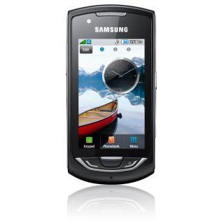 SAMSUNG S5620 S 5620 MONTE BLACK SMARTPHONE NEU OVP