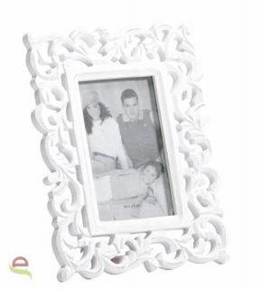 Bilderrahmen, Fotorahmen mit Ornamenten im Landhausstil