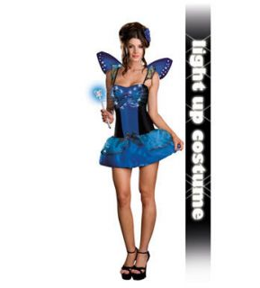 Blue Butterfly Beauty Sexy Butterfly Halloween Costume