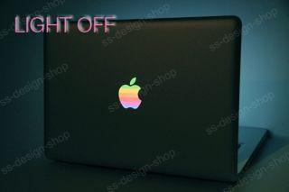 80s Rainbow Sticker Aufkleber für Apple MacBook Pro Air Unibody 11