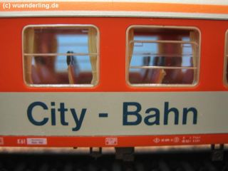 ADE 3427 City Bahn Nahverkehrswagen Bnrzb 778