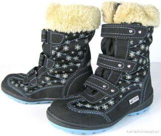 Kinder Mädchen Jungen TEX Stiefel Winterstiefel Winter Schnee Boots