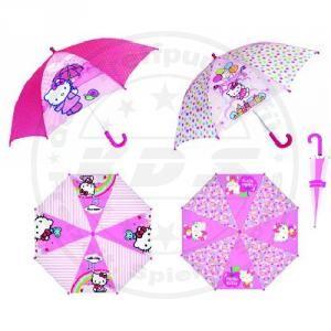 Sanrio Hello Kitty Kinder Regen Schirm mit Motiv Ballons Regenbogen