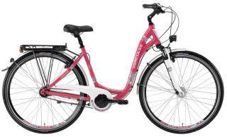 Hercules °Uno 7° Damen City Fahrrad °Shimano 7 Gang° Rh 48 pink