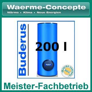 Buderus Logalux SU200/5 Warmwasser Speicher Boiler stehend