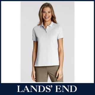 LANDS´ END Damen Poloshirt Jersey Shirt Cardigan in verschiedenen