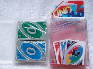 UNO H2O Birthday Party Waterproof PVC Playing Card Game