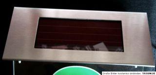 Solar LED Hausnummer gefertigt nach ihren Wünschen, mit ihrem