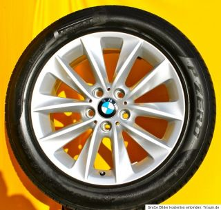 Original BMW X3 F25 18 Zoll Alufelgen Styling 307 V Speiche Pirelli