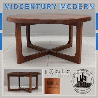 NICE MID CENTURY MODERN DANISH TEAK TABLE TISCH NIELS BACH SUR WEGNER