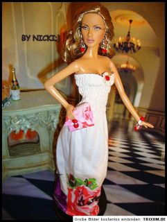 UNIKATE BY NICKI;)BARBIE BASICS GARDEN KLEID / DRESS COTTON 5 TEILIG