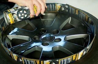PLASTI DIP Felgenfolie schwarz matt Felgen Folie Beschichtung