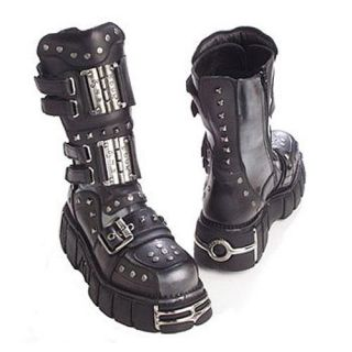 794 New Rock Boots Boots Mad Max Streetfighter Gothic