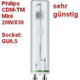 Philips Master Colour CDM TM Mini 20W/830 GU6,5 6,5 Leuchtmittel,Lampe