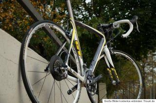 Rennrad Gt GTR Carbon Pro Shimano Ultegra SL Mavic Ksyrium Equipe