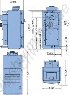 Buderus Holzvergaser S161   24 / Logamatic 2114 (818)