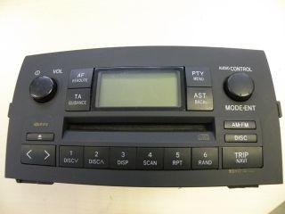 Toyota Corolla Verso 1 CD Radio 8612013060B0 8612013060 NAVI