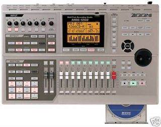 1266 CD 8 12 MULTI TRACK RECORDER HARD DRIVE RECORDING STUDIO 802 1608