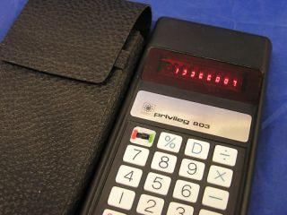 Taschenrechner Calculator Privileg 803