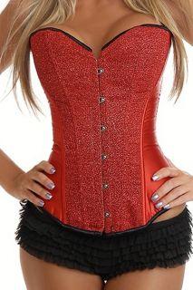 sexy Corsagentop Vollbrust Corsage Korsett Bustier Korsage Bluse Top