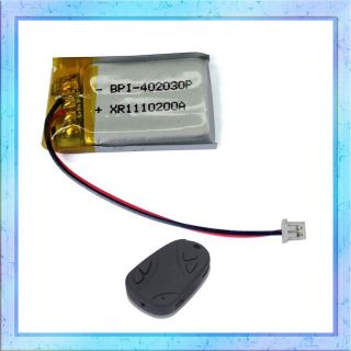 Battery for #16 HD 808 Car Key Chain Camera Camcorder