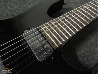IBANEZ RG827Z BK Premium 7 String E Gitarre Electric Guitar Softcase