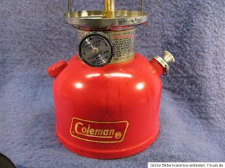 Coleman Laerne Modell 200 A Classic Vinage 1978 Peroleumlampe Lampe