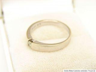 Weißgold Brillant Ring 585er 14kt Gold Schmuck Diamant