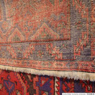 Antik Feiner Handgeknüpfter Perser Teppich Malayer Tappeto Carpet Rug
