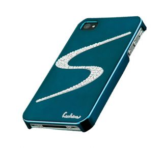 iPhone 4/4S Luxus Strass BLING spiegel chrom Cover hard Case Hülle
