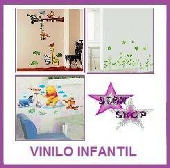 VINILO DECORATIVO ADHESIVOS INFANTIL PEGATINAS PAREDES DECORACION WALL
