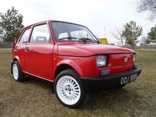 Polnischer Fiat 126p maluch 126 ELX von ersten Besitzer Polen