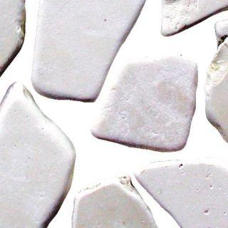 Antikmarmor Marmor Bruch Bruchmarmor Mosaik Bianco Perlino