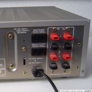 COMPUTERIZED HIGH SPEED STEREO RECEIVER MODEL KR 830 Top Zustand