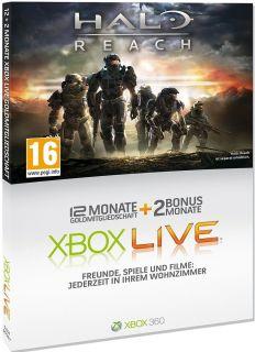 Xbox 360 Live Gold 12+214 Monate Karte Abonnement Code