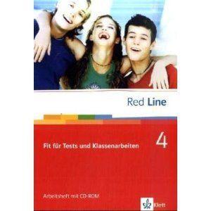 RED LINE 4   Fit für Tests und Klassenarbeiten