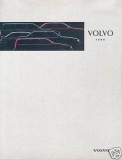 Volvo 1996 Prospek 960 940 850 460 440 brochure broschyr brosjyre