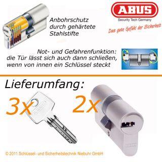 2x ABUS EC550 gleichschließend Profilzylinder Schloss Zylinder