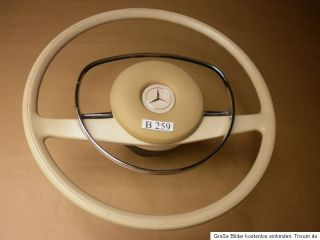 Elfenbein Lenkrad Mercedes W108 W109 W111 W113 W114 W115 Pagode /8