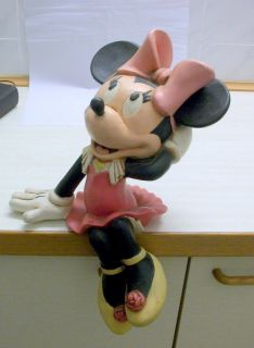 Walt Disney Figur Minnie Maus 45 cm sehr alt mit Disney Marke