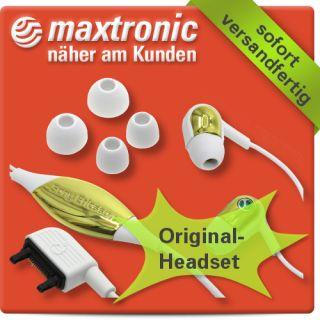 Original Handy Headset für Sony Ericsson F305i Telefon Kopfhörer
