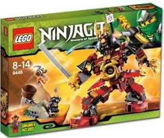 LEGO Ninjago 9448 Samurai Mech NEW IN BOX Free Shipping!!~