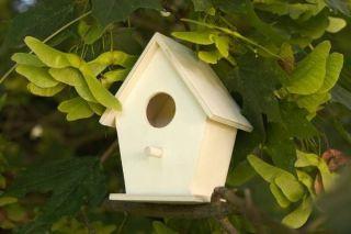 Nistkasten / Vogelhaus aus Holz zum Selbstgestalten