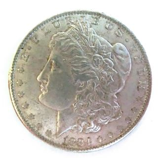 114874   Silbermünze 1 Dollar Morgan USA 1884 O