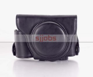 Abnehmbare Camera Case Tasche für Panasonic LX7 LUMIX DMC LX7 Black