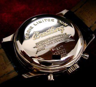 BREITLING NAVITIMER 18K ROSE GOLD EWIGER KALENDER LIMITED VP 77870