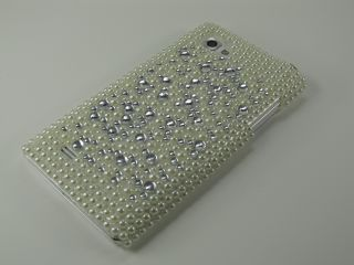 LG Optimus P880 4X HD Glitzer Hülle Cover Case Crystal Bling Strass